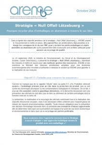 Stratégie « Null Offall Lëtzebuerg »
